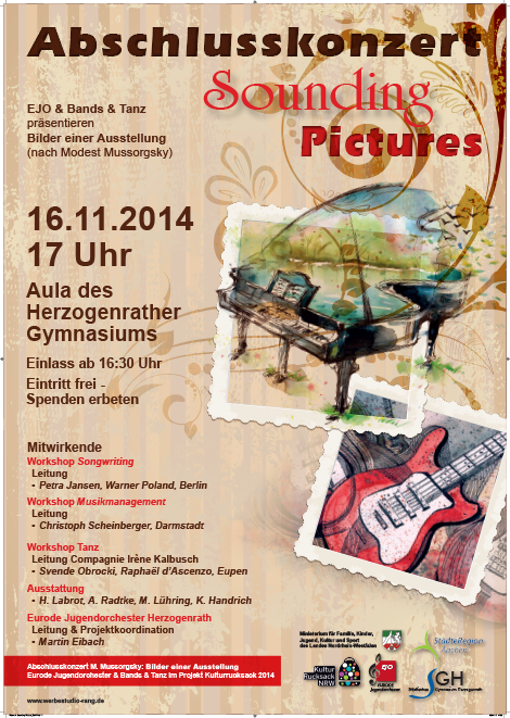 Plakat A1 Sounding Pictures 2014