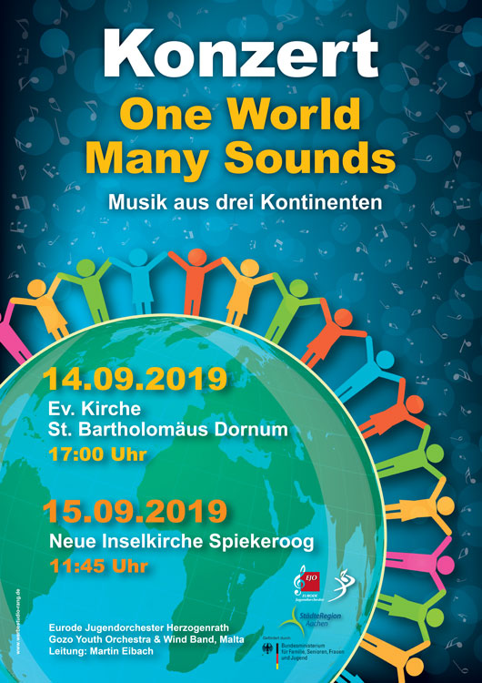 One World   Many Sounds